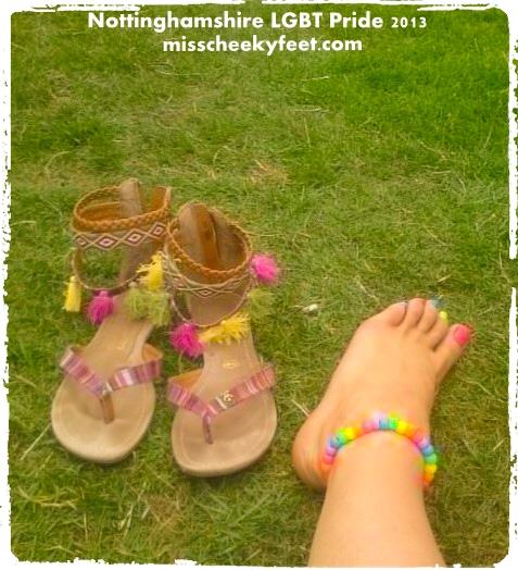 LGBT Pride, feet
