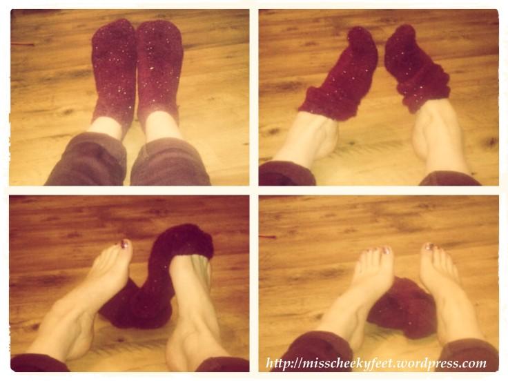 Sock Strip Tease