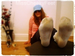 Gross Sock Soles!
